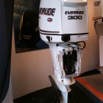 Evinrude 300 E-Tec Demo model